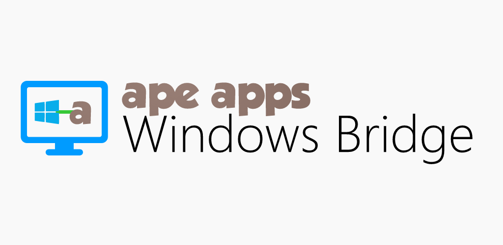 Ape Apps Windows Bridge